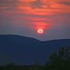 Sunset on Moosic Mountain 2