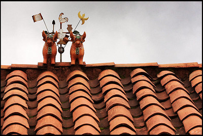 Traditional Roof Decoration, Cusco