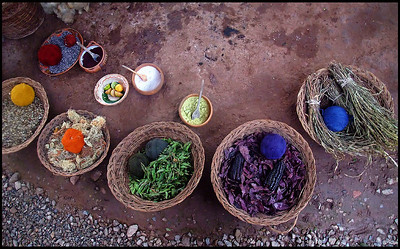 Natural Ingredients for Color Dyeing