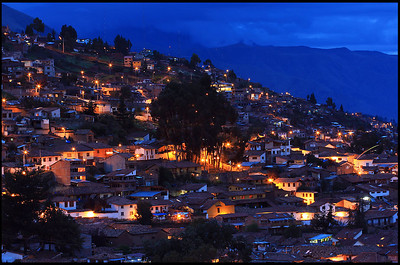 Town of Cusco in the Early Evening