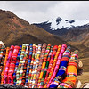 Colorful Peruvian Knittings and Snow-capped Mountains, La Raya<br /> <br /> La Raya is at the border between the departments of Cusco and Puno. It is the highest point traveling from Cusco to Puno, at altitude 4,313m (14150ft).