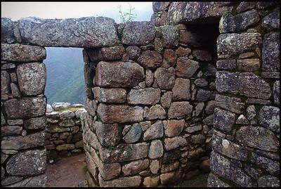 Inca Ruins at Machu Picchu