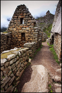 Royal Enclosures, Inca Ruins at Machu Picchu