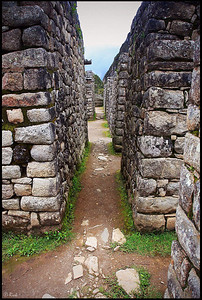 The Three Doorways, Inca Ruins at Machu Picchu
