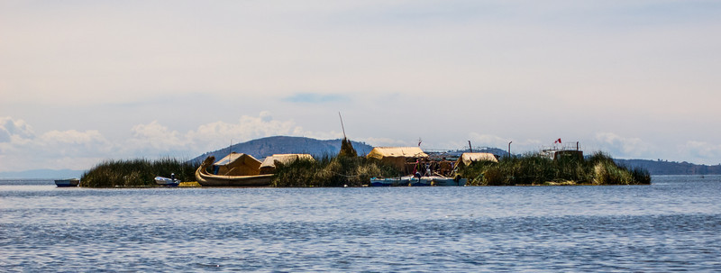 Reed Island of the Uros People