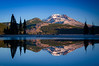 South Sister Sunrise   MSFRN Image #SS003  12x16 --  $40 mat only, $95 framed 18x24 --  $65 mat only, $150 framed