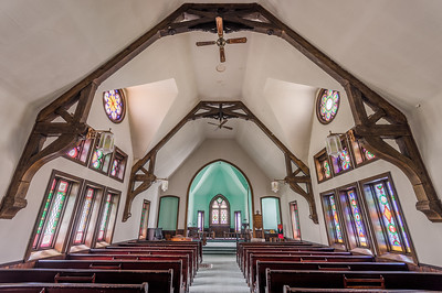 Trinity Episcopal Church in Antrim, PA. Now owned by Pete Gorda