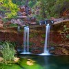 Zion's Double Falls