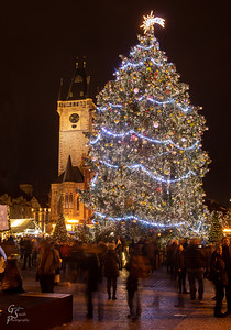 Christmas Eve Old Town Square
