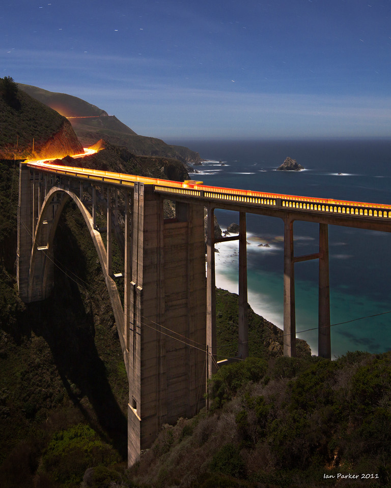 Bixby Bridge: Big Sur, Californai