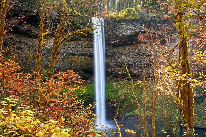Silver Creek Falls.