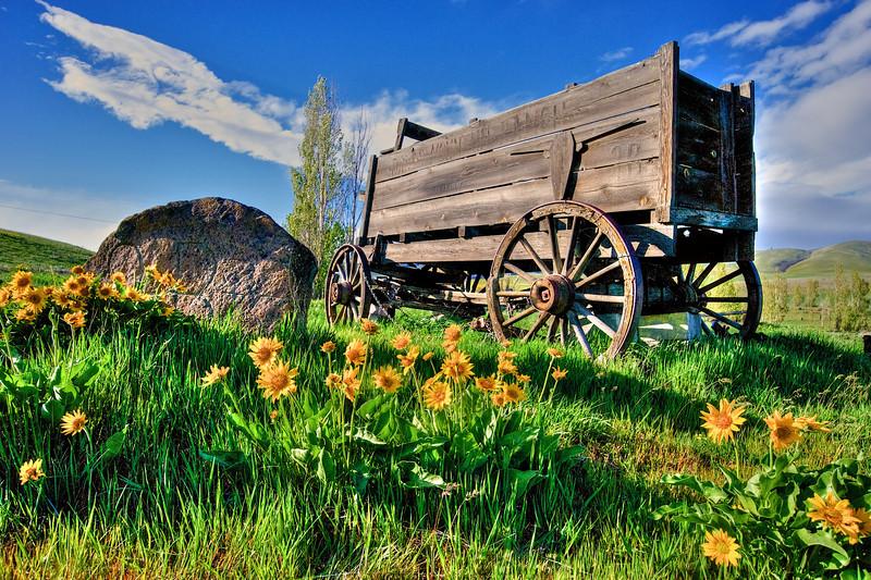 The Dalles Ranch farm wagon.