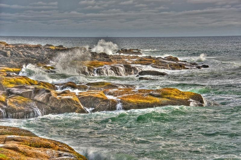 Afternoon sea