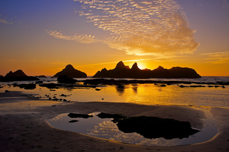 Sunset at Seal Rock