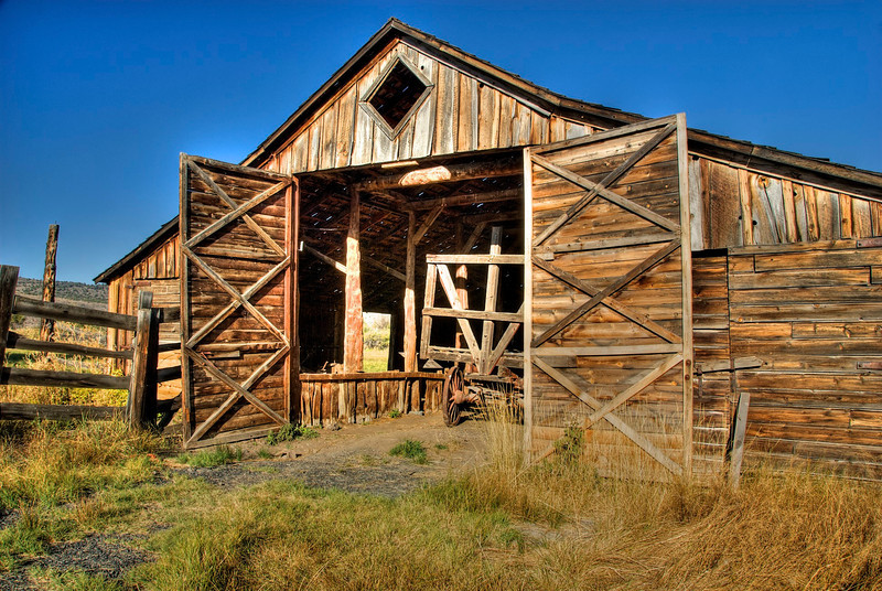 Old Barn in Eastern Oregon
