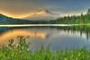 Mt. Hood and Trillium Lake
