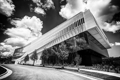 Hunt Library 1 B&W