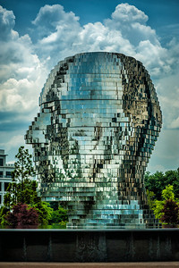 Metalmorphosis - Giant Head, Charlotte, NC