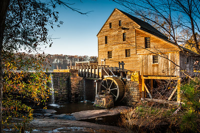 Yates Mill at Thanksgiving, 2012