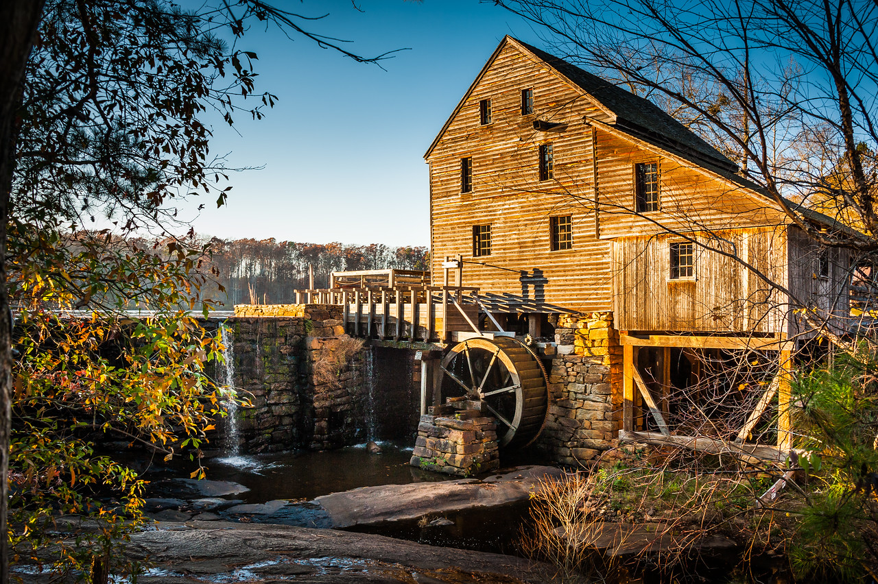 Yates Mill at Thanksgiving, 2012