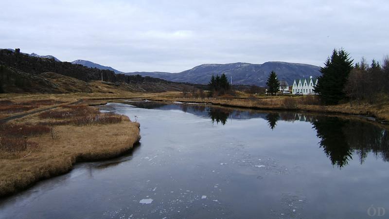 Öxará, Þingvellir