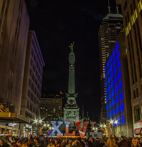 Super Bowl Village Indy