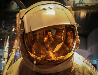 Man in the Spacesuit