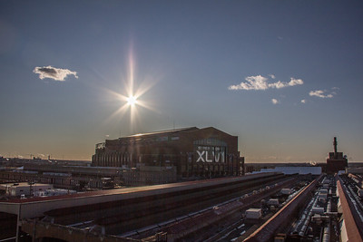The Sun Sets on the Super Bowl