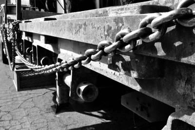 A truck at Gerlinger's Steel.