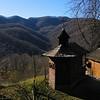 Small church near Schitul Iezer, Oltenia, Romania