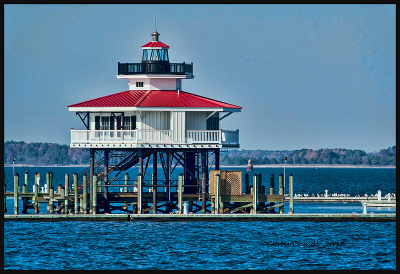Choptank River Lighthouse<br /> Cambridge, Md
