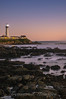 _DSC6650Pigeon Pt Lighthouse-after-sunset-vertical-b