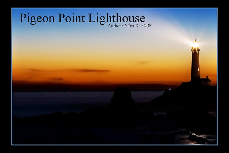 Pigeon Point Lighthouse 4x6