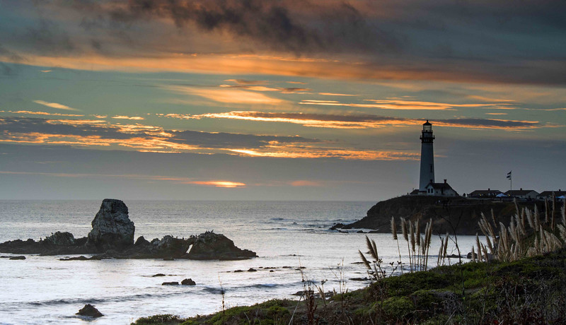Pigeon Point Lighthouse, CA