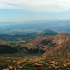 View from Pike's Peak Highway