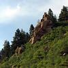 Rock outcropping in Colorado Springs, Colorado 8637b