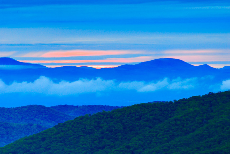 Morning on the Blue Ridge