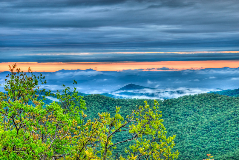Daylight over Pisgah