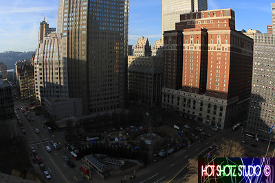 Pittsburg downtown landscape