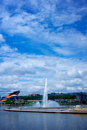 Pittsburgh Water Fountain