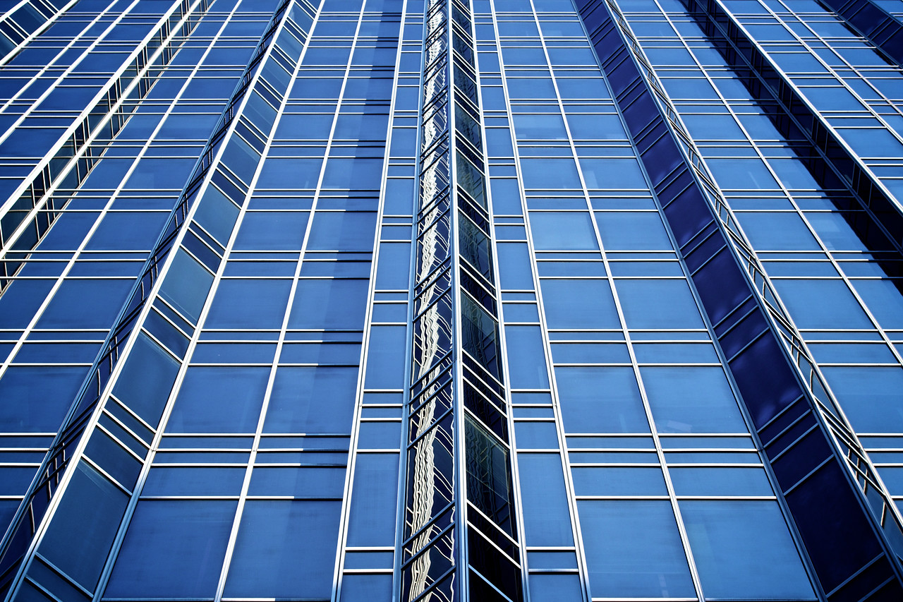 Exterior Design of Glass and Steel