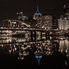 Pittsburgh on a calm night in the winter