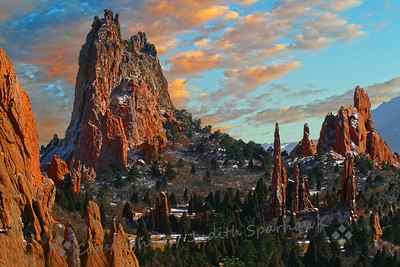 Spires of Fire  (Garden of the Gods, Colorado Springs, CO)