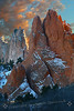 Fire and Ice  (Garden of the Gods, Colorado Springs, CO)