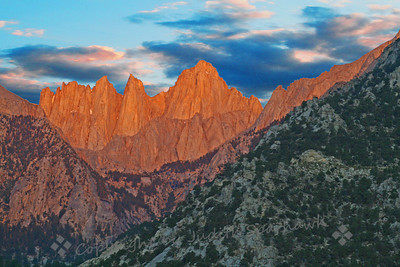 First Light on Mt. Whitney
