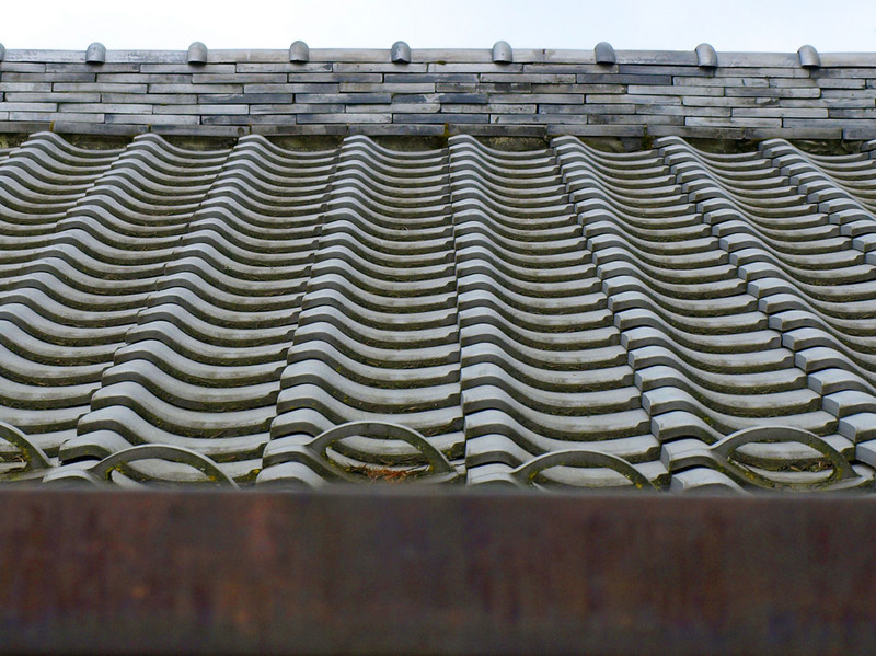 Roof tile pattern.