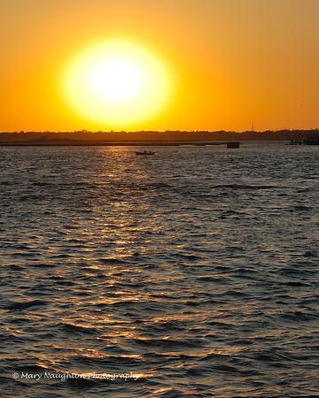 Sunset on Reynolds Channel, Long Beach, NY