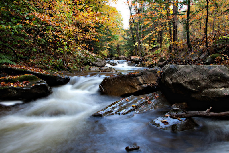 Lowell, VT Fall 2010
