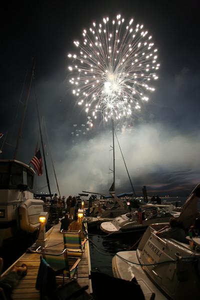 4th of July 07, Burlington, VT waterfront