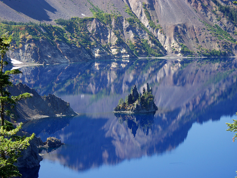 """Crater Lake """"Phantom Ship"""""""